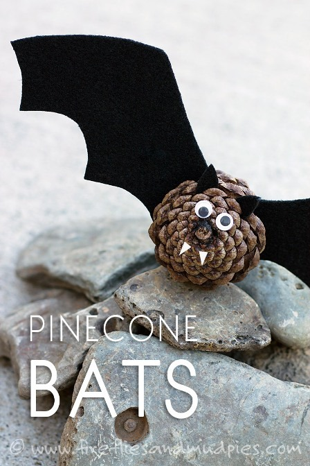Pinecone Bats from Fireflies and Mud Pies