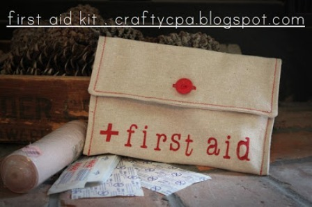 First Aid Kit from Crafty CPA