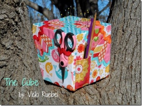The Cube Pincushion from Riley Blake Designs