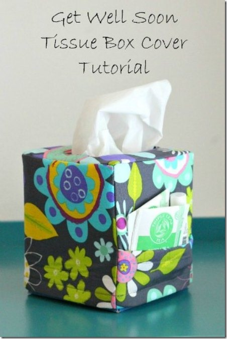 Tissue Box Cover from So Sew Easy