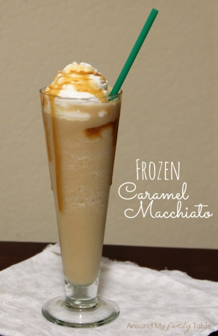 Frozen Caramel Macchiato from Around my Family Table