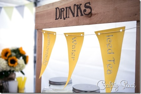 Wedding Drink Stand Signs - Crafty Staci