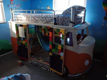 VW Bus Bed from The Tree Houser