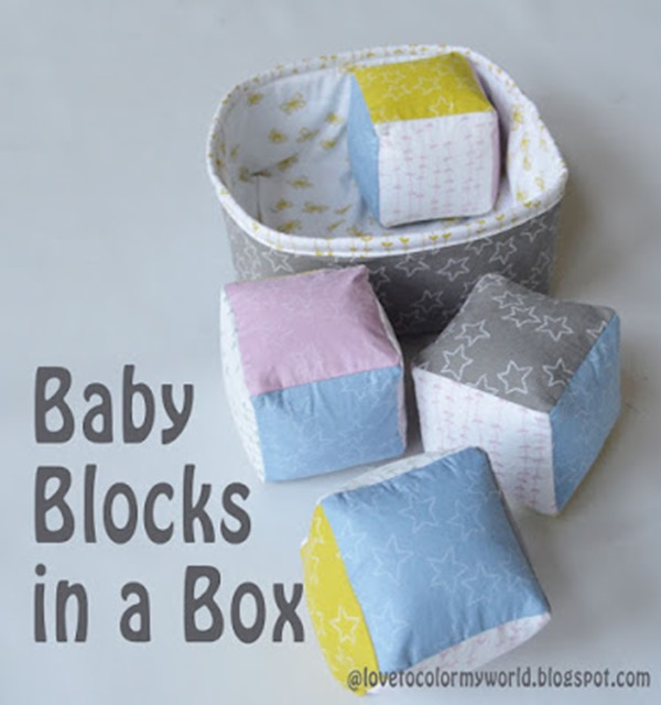 Baby Blocks in a Box from Love to Color My World