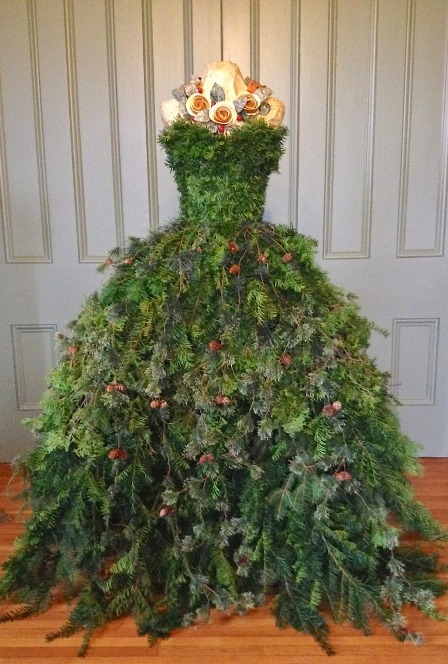 Christmas Tree Dress from The Dusty Victorian