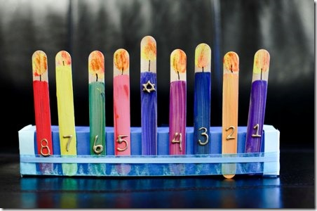 DIY My Own Menorah Babbaco