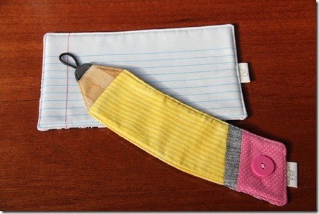 17 Pencil and Paper Drink Sleeve and Mat