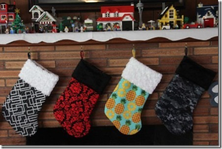19 Lined Christmas Stockings