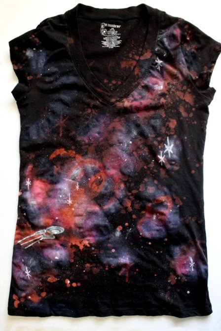 Warp Speed Galaxy Shirt from Punk Projects