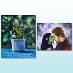 Guardians of the Galaxy Art Prints from LoLo2ology