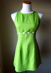 Lime Green Party Dress from blueisstarrynight