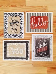 Notecard Set from Bridgetown Creative