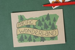 Pacific Wonderland Postcards from acbcDesign