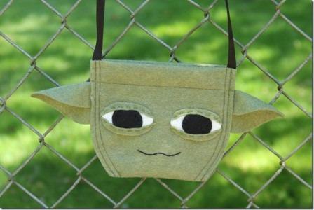来自Crafty Staci的Yoda包