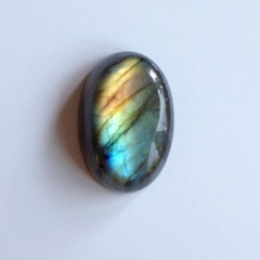 Rainbow Labradorite Cabochon from EntheoGems