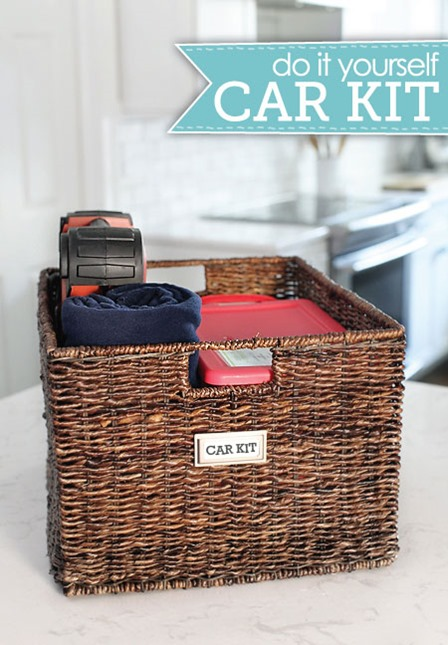 Car Kit from I Heart Organizing