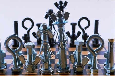 Chess Set from Boys' Life