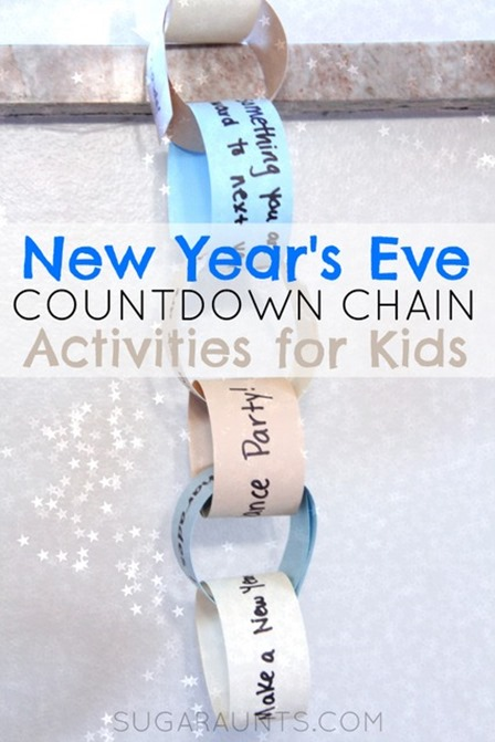 Countdown Chain from Sugar Aunts
