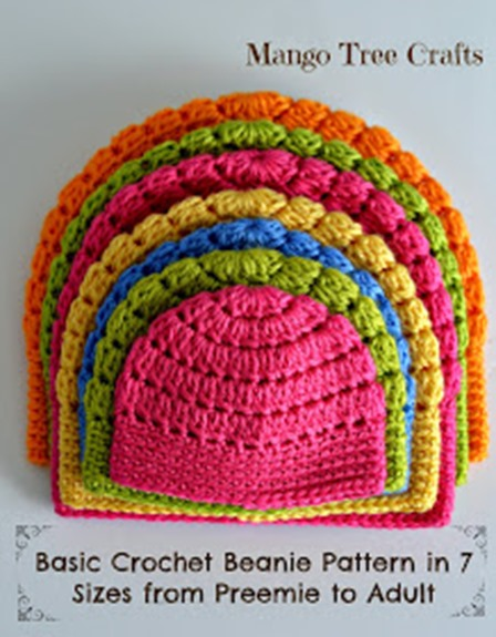 Crochet Beanie from Mango Tree Crafts