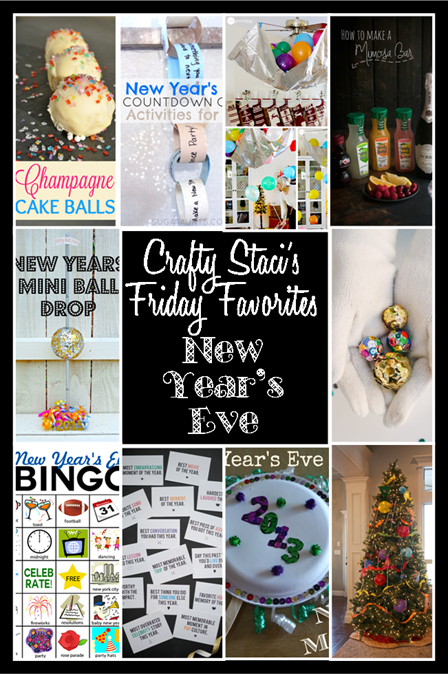 Friday Favorites - New Year's Eve