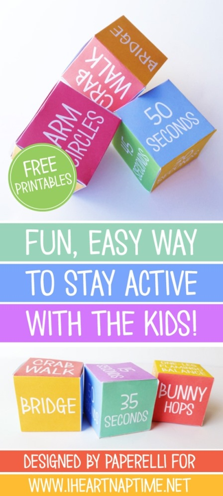 Get the Kids Moving Game from I Heart Naptime