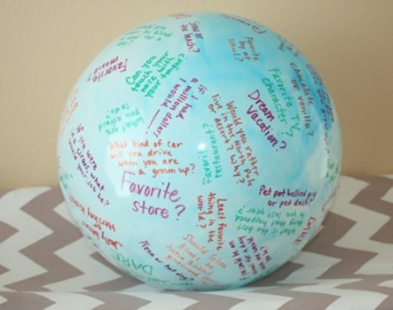 Toss and Talk Ball from Things We've Handed Down