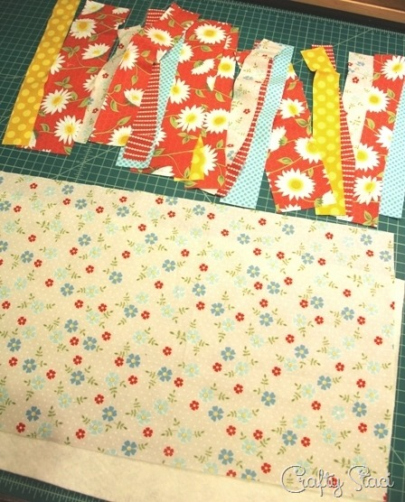 Quilt As You Go Table Runner Crafty Staci