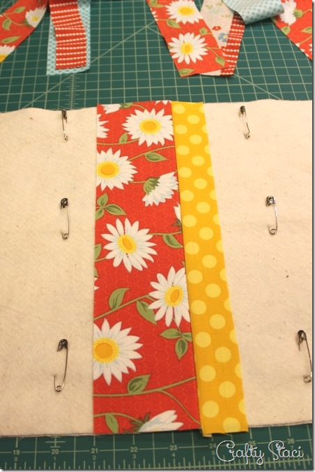 Press first seam - Crafty Staci