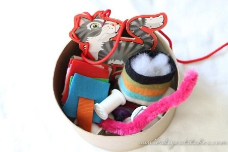 Sewing Room Busy Basket from Indigo Stitches