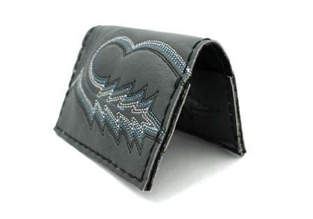 Wallet from Old Cowboy Boot from Poppytalk