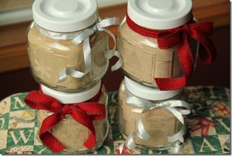 来自于Crafty Staci的五香柴茶混合物和咸焦糖可可混合物