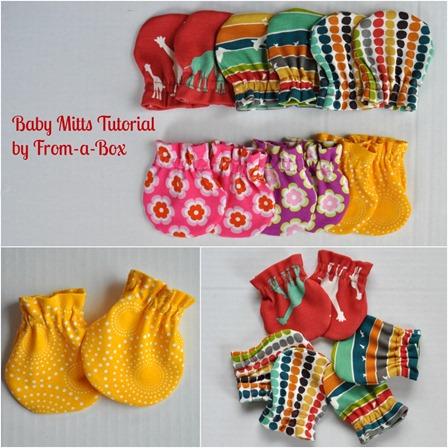 亲爱的婴儿手套