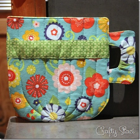 Teacup Hot Pad Preview - Crafty Staci