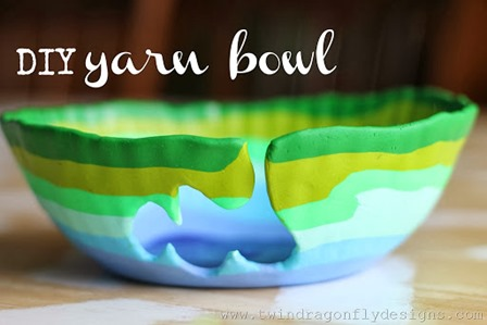 DIY Yarn Bowl from Seven Thirty Three