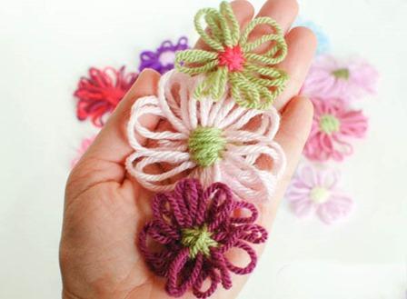 从花瓣到picots的织机花