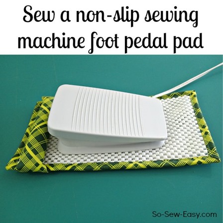 So Sew Easy的防滑缝纫机脚踏板