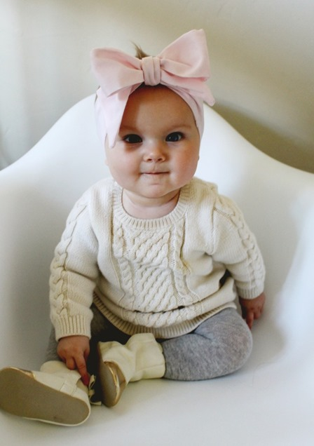 Oversized Baby Bow Headwrap from A Joyful Riot