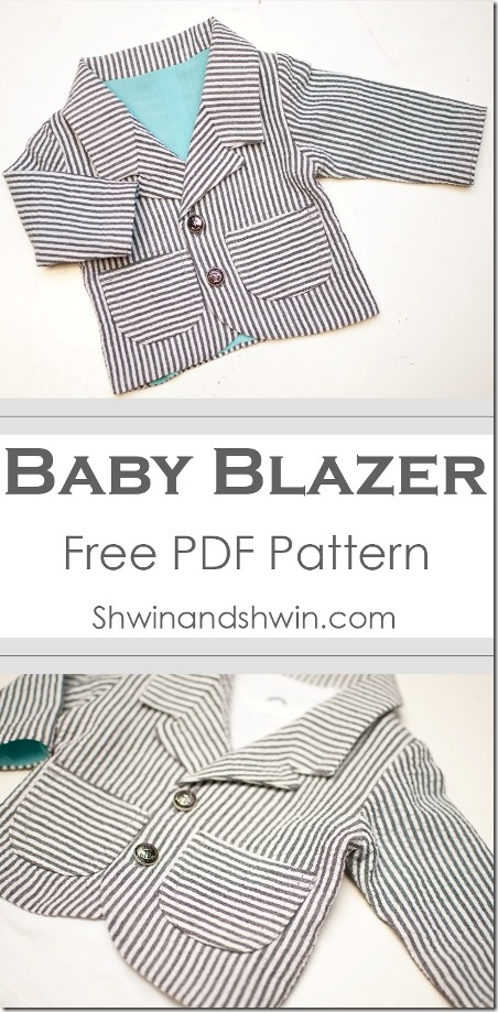 Baby Blazer Pattern from Shwin and Shwin