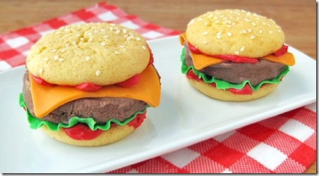 Chilly Cheeseburger Ice Cream Sandwich Sliders from Tablespoon
