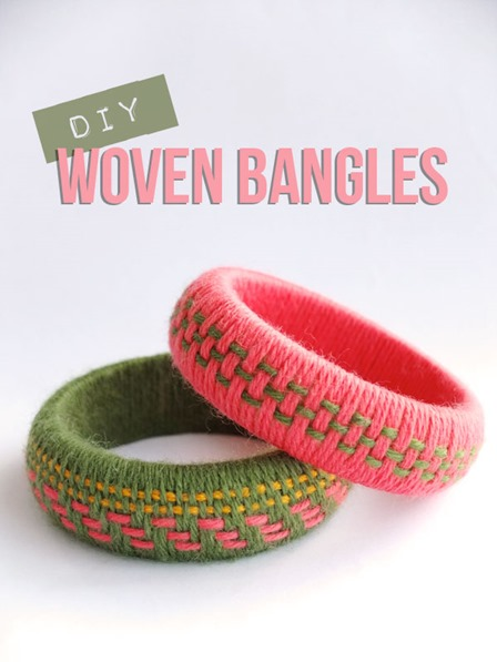 Woven Bangles from My Poppet