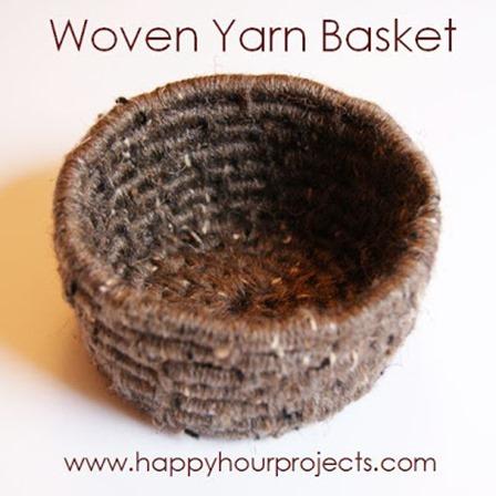 来自欢乐时光的编织纱篮