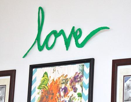纱线从DIY Candy包裹着爱情