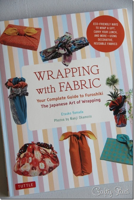 Crafty Staci's 5th Anniversary Giveaway Wrapping with Fabric book