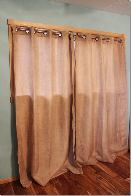 Curtains are too long