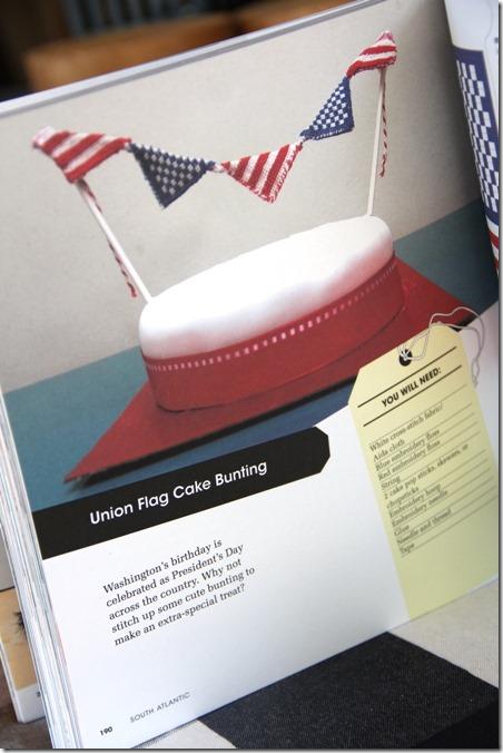 剪出并保留书籍彩旗