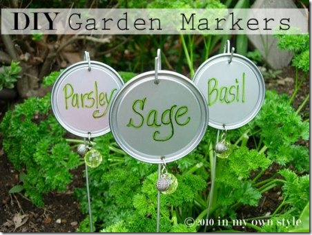 DIY Garden Markers from In My Own Style