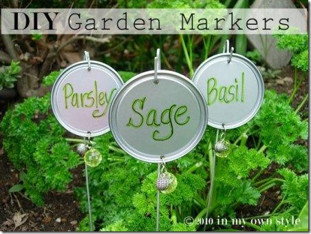 自己动手制作DIY花园标记