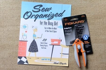 Crafty Staci's 6th Anniversary Giveaway - book and scissors