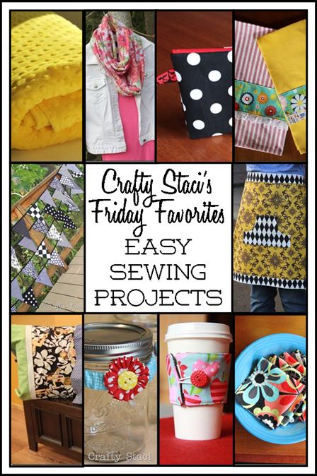 轻松缝制项目-Crafty Staci的星期五收藏夹
