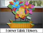 Forever Fabric Flowers